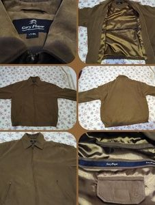 Suede Gary player jacket